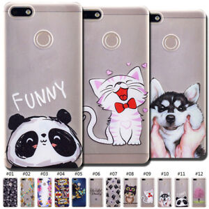 Fitted Cases For Huawei P9 Lite Mini Phone Case Cover For Huawei P9 Lite Mini Cute Novelty Tpu Painted Covers Cases For Huawei P9 Lite Mini