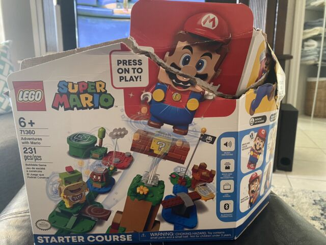*Missing Mario LEGO Super Mario Adventures Starter Course 71360