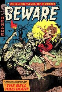 Beware #10 Photocopy Comic Book, Frazetta Cover