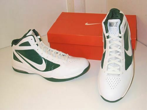 Nike Air Max Destiny TB Basketball White & Green Sneakers Athletic Shoes Mens 16