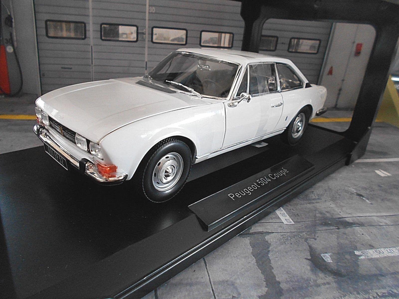 Peugeot 504 Coupe MKI 1969 blancoo blancoo 184825 norev 1 18