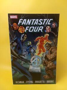 50-OFF-GRAPHIC-NOVELS-Fantastic-Four-Vol-4-TPB-Hickman-amp-Epting-Marvel