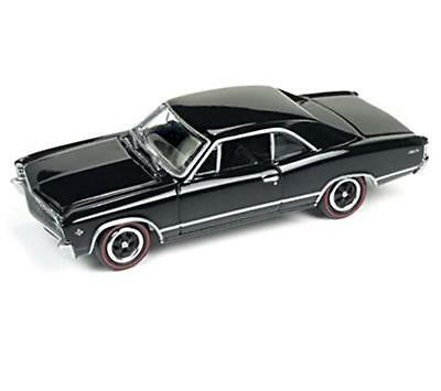 Contemporary Manufacture Persevering 1/64 Johnny Lightning 1967 Chevrolet Chevelle Malibu Gloss Black Jlmc006 A Fashionable Patterns Other Vehicles