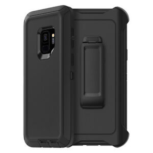 For-Samsung-Galaxy-S9-Plus-Defender-Case-3-Layer-Shockproof-Cover-with-Belt-Clip