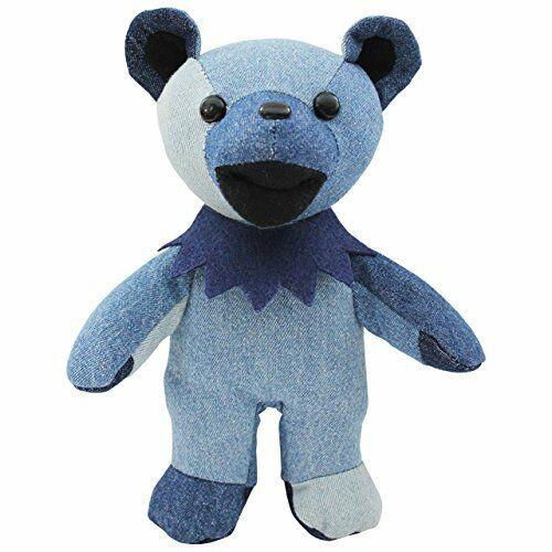 Grateful Dead Dead Bear BLUE GENE Plush Doll Stuffed Toy From Japan