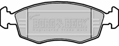 BORG BBP2310 BRAKE PAD SET DISC BRAKE Front