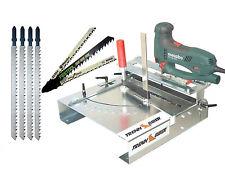 012L Sägetisch Bosch Festool u. 4 lange T-Schaft Stichsägeblätter für Stichsägen