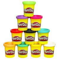 Playdoh Case Of Colors, Pack Of 10, New, Free Shipping