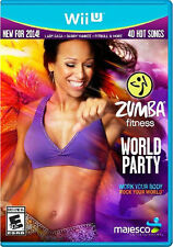 Zumba Fitness World Party Wii-U New Nintendo Wii U, nintendo_wii_u