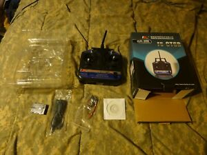 FLYSKY-FS-CT6B-6CH-2-4GHz-Transmitter-amp-Receiver-R6B-RC-Helicopter-amp-Airplanes