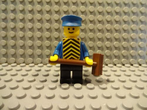 LEGO Figuren Classic pin088 Arbeiter 605-1 Gebraucht A12//24