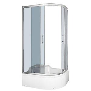 Details zu Duschkabine mit Sitz Fertigdusche Dusche Duschtempel Duschwand  Azalee 120 Links