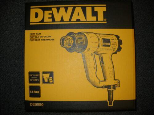DeWalt D26950 Heat Gun with Kickstand 120V 13.0 Amp Compact Lightweight New