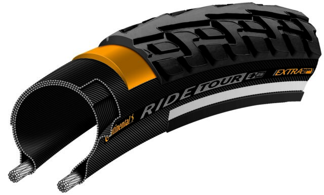 Continental Tour Ride 700 x 47c Bike Tyres Pair
