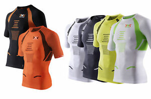 X-Bionic-The-Trick-running-Camiseta-de-hombre-Motero-fahrradoberteil-RUEDA