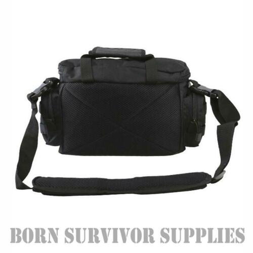 Kombat Alpha Tactical Grab Bag 15ltr Noir Airsoft épaule gamme Sacoche Molle