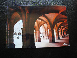 Francia-Tarjeta-Postal-Montauban-Soportales-Plaza-Nacional-1977-cy27