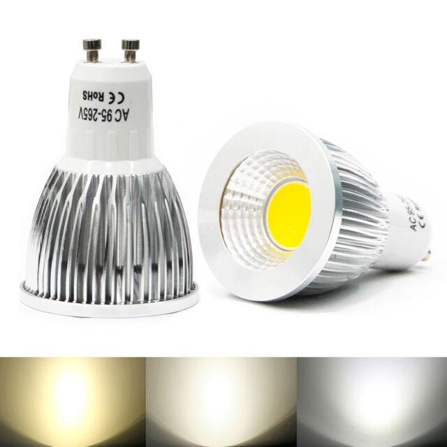 Ultra Bright MR16 GU10 E27 Dimmable LED COB Spot down light lamp bulb 6W 9W 12W