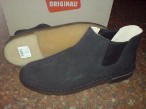 8 nero 11 G Chelsea Originals Suede Clarks 6 Uk Mens 7 X 5 XqU4wOxv