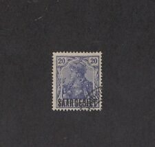 Saar 46 -  German Overprint.  Used.    #02 SAAR46