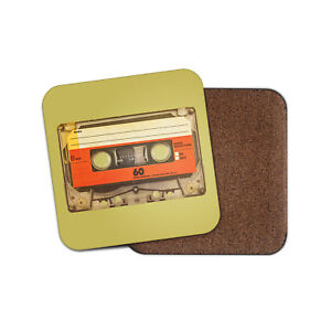 Awesome-Mix-Tape-Coaster-Retro-Cassette-Vintage-Music-Men-039-s-Cool-Gift-14539