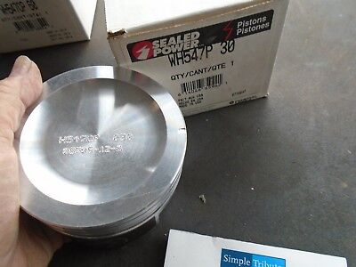 Sealed Power WH547P-20 Engine Piston .020-79-93 Buick Chevy Olds Pontiac 2.5L