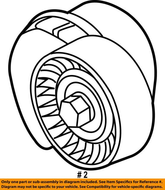 Ford Oem 11 16 F 150 Serpentine Drive Fan Belt Tensioner Br3z6b209h