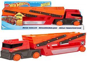 Hot-Wheels-Mega-Hauler-Lamborghini-Truck-Ages-4-Toy-Play-Car-Race-Boys-Track