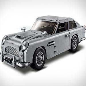DB5-James-Bond-007-Aston-Martin-1450-pieces-Compatible-avec-LEGO-10262