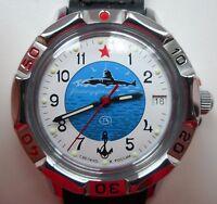 Russische VOSTOK KOMANDIRSKIE UHR Mechanische Handaufzug Militär #811055