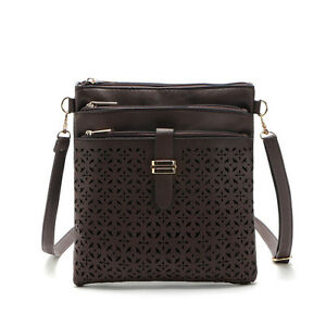 48337030edd1 New Small Bag Women Messenger Bags Soft PU Leather Hollow Out ...