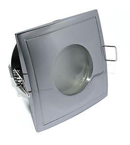230V LED Feuchtraum Downlight Spots Aqua 7W = 52W Bad /& Dusche IP44 IP65 GU10 LM