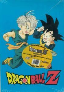 "Copies Doubles Dbz ""trunk Sangohan"" 200 Pages 5x5 90g Dragon Ball B9mz5vje-07164118-439544961"