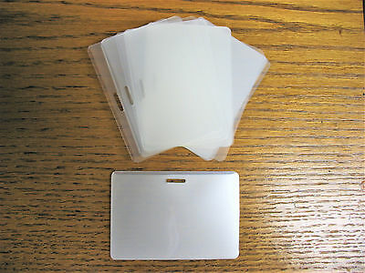 LAMINATING  LAMINATOR I.D POUCHES  WITH SLOT FOR BADGE CLIPS OR NECK LANYARDS