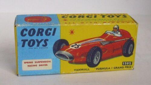 Repro Box Corgi Nr.150 S Vanwall F 1