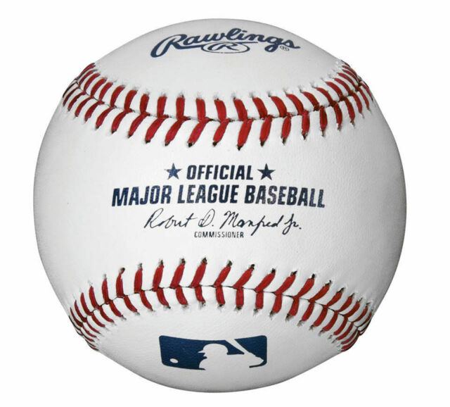 7cf9afc738a 1 2 Dozen MLB Rawlings Official Leather Major League Baseballs - Manfred