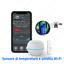 Termostato SMART WiFi accenzione caldaia da remoto gestione temperature umidità