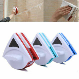 Window Magnetic Double Sided Glass Wipe Cleaner Cleaning Brush Tools Home UK