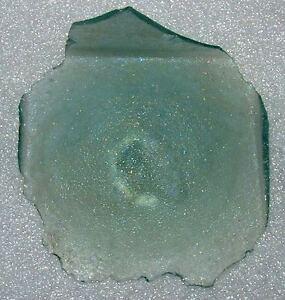 ancient roman glass fragment .very nice.....,big..,...