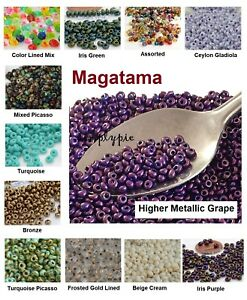 Magatama-Toho-Glass-Seed-Beads-3mm-10-Grams-Ur-PICK-New-Color-New-Arrivals