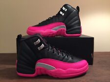 e6778ce691b item 8 Nike Air Jordan Retro 12 XII GG Black   Deadly Pink Sz 4Y NEW 510815  026 -Nike Air Jordan Retro 12 XII GG Black   Deadly Pink Sz 4Y NEW 510815  026