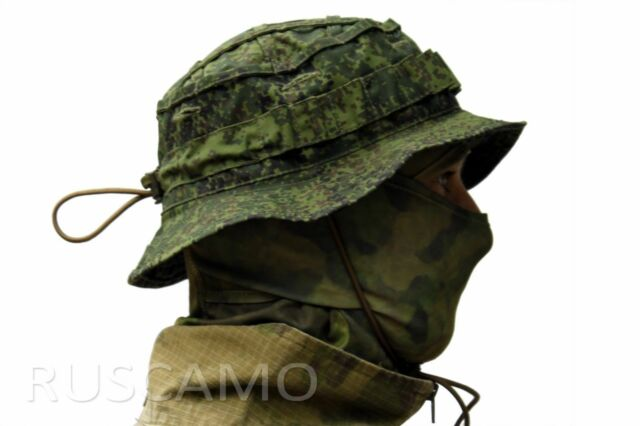 """Russian Boonie Hat """"Scout"""" DIGITAL FLORA camouflage"""