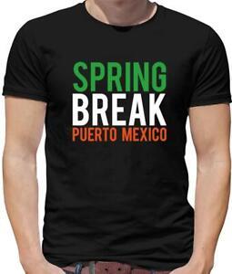 Spring Break Puerto Mexico Mens T-Shirt Movie 22 Jump Street Funny Film