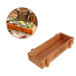 Herb-Wooden-Seeds-Planter-Window-Box-Garden-Plant-Pot-Indoor-Outdoor-Kit-Gift
