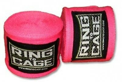 """RING TO CAGE Handwraps Mexican Style Stretchable-Tan 180/"""""""