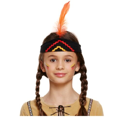 American Indian Girl Fancy Dressing Up Costume Outfit Native Wild West History
