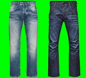 Mens-JACK-amp-JONES-Original-Denim-Jeans-Boxy-Blue-Loose-Fit-Sale-Waist-Size-28-38