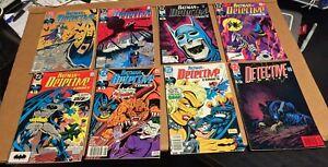 BATMAN-big-LOT-48-Detective-Chronicles-Confidential-Wildcat-Toyman-VF-set-run