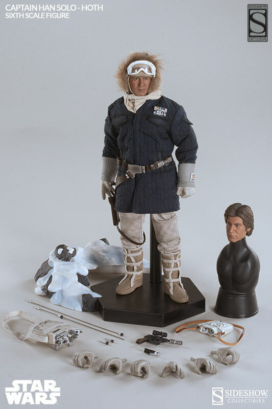 Sideshow Exclusive - Star Wars - Captain Han Solo - Hoth Blue Jacket - Sealed! on eBay thumbnail