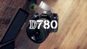 Brand New Nikon D780 DSLR Camera (Body Only)